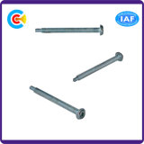 DIN/ANSI/BS/JIS Carbon-Steel/Stainless-Steel 4.8/8.8/10.9 Galvanized Pan-Head Screws with Cross Pin Dielectric