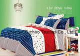 Poly/Cotton Bedding Set for Classic 6-Piece Modern Feather Home Textile