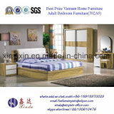 Luxury PU Leather Bed Modern Hotel Bedroom Furniture (702A#)