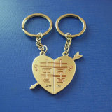 Custom Metal Key Ring, Lovers Key Chain (GZHY-KC-019)