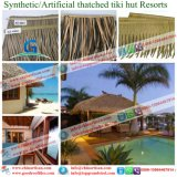 Synthetic Thatch Roofing Building Materials for Hawaii Bali Maldives Resorts Hotel 32