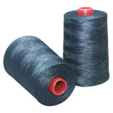 Indigo Cotton Wrap Core Spun Sewing Thread for Jeans Denim Wear Jacket with Color Fading Effect After Washing (2010)