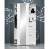 Bedroom Furniture Shoe Cabinet Sliding 1 Door Wardrobe (WB66)