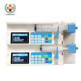 Sy-G080 Medical Cheap Syringe Pump Double-Channels Syringe Pump