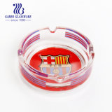 Round Size Glassware Ashtray with OEM Decal