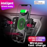 Airvent Holder Infrared Sensing Automatic Wireless Car Charger for Smartphone