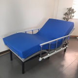 Factory Price Directly Loading Homecare Nursing Medical Bed with Waterproof Cover Mattress with Hand Rail Hospital Equipment