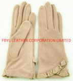 Lady Fashion Wool/Winter/Warm with Touch Screen Function Gloves (JYG-25038)