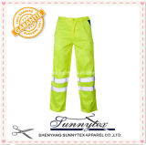 Hi Vis Reflective Stripes Long Uniform Pants