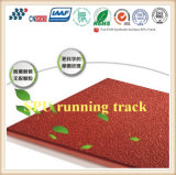 Iaaf Certified Natural Material No Toxic Rubber Athletic Running Track