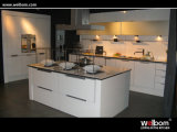 2015 Welbom Modern White Baked Paint Kitchen Cabinet