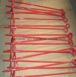 Hot DIP Galvanized Ground Screw Pole Anchor, Ground Screw, Ground Screw Pile Anchor