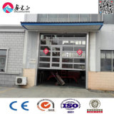 Automatic Electric Vertical Lift Overhead Door with Glass