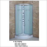 Quadrant Shower Room with Fabric Tempered Glass