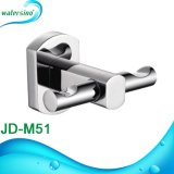 Brass Chrome Bathroom Accessories Double Robe Hook