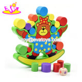 New Hottest Funny Stacking Blocks Wooden Balancing Game for Baby W11f071