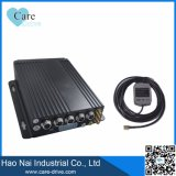 4 CH Car Black Box SD-Card Mobile DVR with GPS 3G 4G WiFi