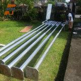 Solar Street Light Hot Galvanized Outdoor Waterproof Poles/Pole 4m/5m/6m/8m/10m