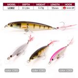 Stock Available Hard Plastic Minnow Fishing Lure