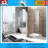 12mm Tempered Frosted Glass Shower Enclosure