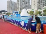 2017 New Inflatable Frame Swimming Pool