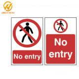 Factory Price Recycle Plastic Sign Board Reflective Traffic Safety Sign