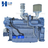 Weichai Deutz WD10 marine diesel motor engine with gearbox for fishing boat