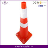 36 Inch Traffic Cone Full Fluorescent Orange PVC