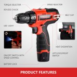 37piece Hardware Set Cutting Electric Driver Hand Driver Cordless Drill Power Tools