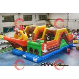 Party Kids Inflatable Cartoon Theme Bounce House Bouncer, Cheap Outdoor Playground Bouncy Castle for Sale