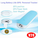 4500mAh Personal GPS Tracking with Multiple Accurate Positioning