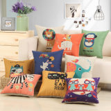 High Quality Square Digital Printed Sofa Back Cushion Cover Mall Gift Office Car Chair Seat Lumbar Throw Pillow Case