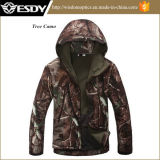 Tree Camo Winter Tactical Outdoor Waterproof Softshell Jacket
