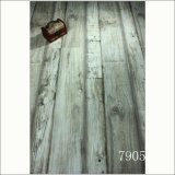 Rustic Style Series White Color Smoke Home Floor Laminate Flooring