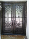 Irnamental Factory Outlet Wrought Iron Entry Doors
