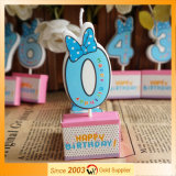 Printed Birthday Decorative Craft Candle