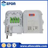 Network Fiber Optic Disturition Box 8 Fiber Optic Terminal Box with Splitter