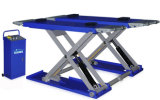 Low Height Movable Scissor Lift Garage Equipment