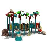 Forest Style Children's Amusement Park Outdoor Playground Slides
