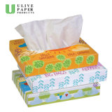 White Skin Friendly Super Soft Box Facial Tissue