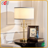 Nordic Modern Contracted Warm Creative Study American Copper Cloth Art Web Celebrity Table Lamp Hotel Decorative Lamp