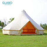 Bell Tent 5m Cotton Canvas Waterproof Camping Outdoor Family Yurt Tent