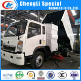 HOWO/Sinotruk 4X2 New Street Sweeper/Sweeping/Cleaning/Runway Truck