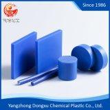 Blue 100% Virgin Polyamide Material Mc Nylon 6 Rod