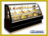2 Doors 3 Doors Commercial Cake Display Cabinet