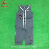 Healong New Style Custom Sublimated No Sleeve Sportswear Fashion Baseball Uniform
