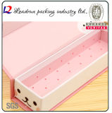 Wood Packaging Pencil Gift Pen Box Paper Display Plastic Pen Box Packing Display Box (YSD16)