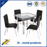 1+4 Glass Dining Room Furniture Modern Furniture