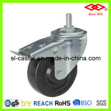 "5"" European Type Hard Rubber Industrial Castor Wheel (L102-53B100X32S)"