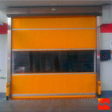 Food Processing Shop Automatic Inductive High-Speed Rolling Shutter Fire Doors (HF-1009)